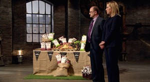 Claire and John Brumby on Dragons' Den