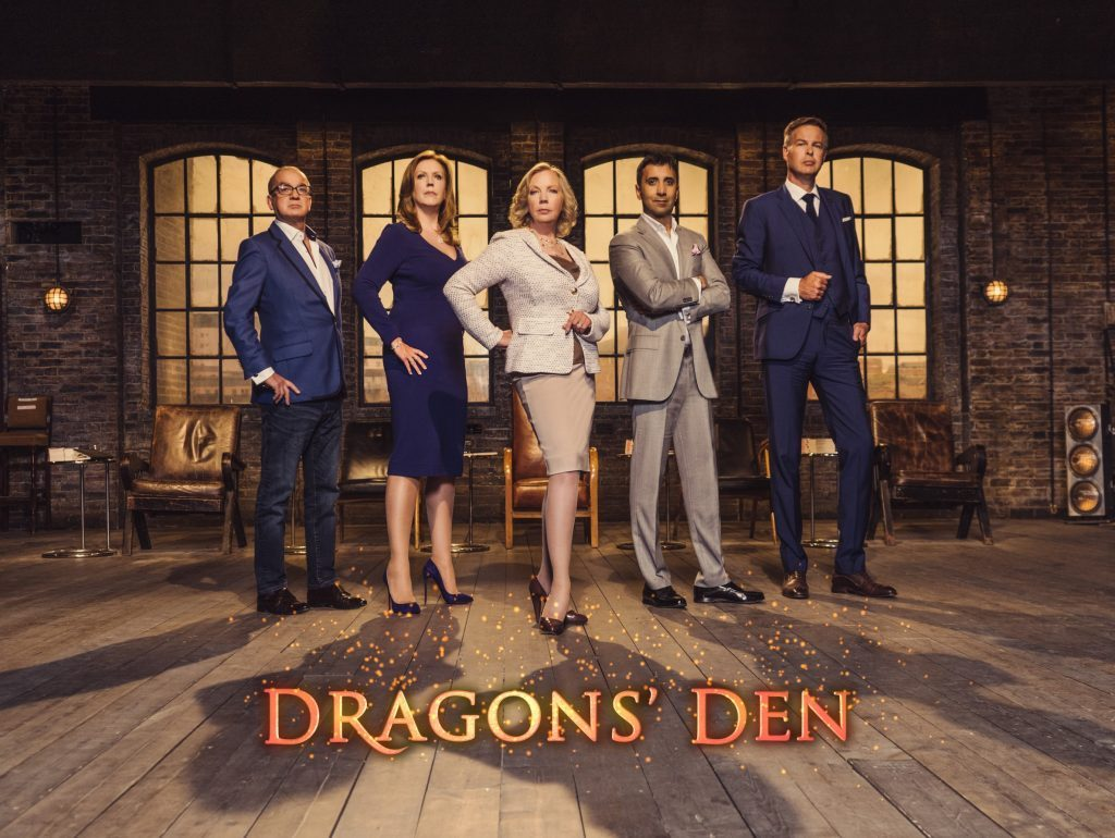 Dragons in the Den.